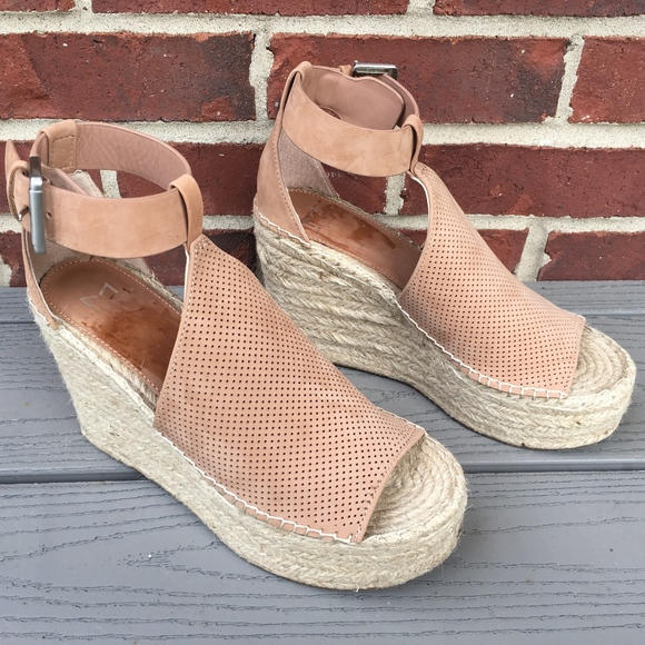 911610fead3e Marc Fisher Annie Perforated Espadrille Wedge. M 5b071a1ddaa8f67f499a05fd